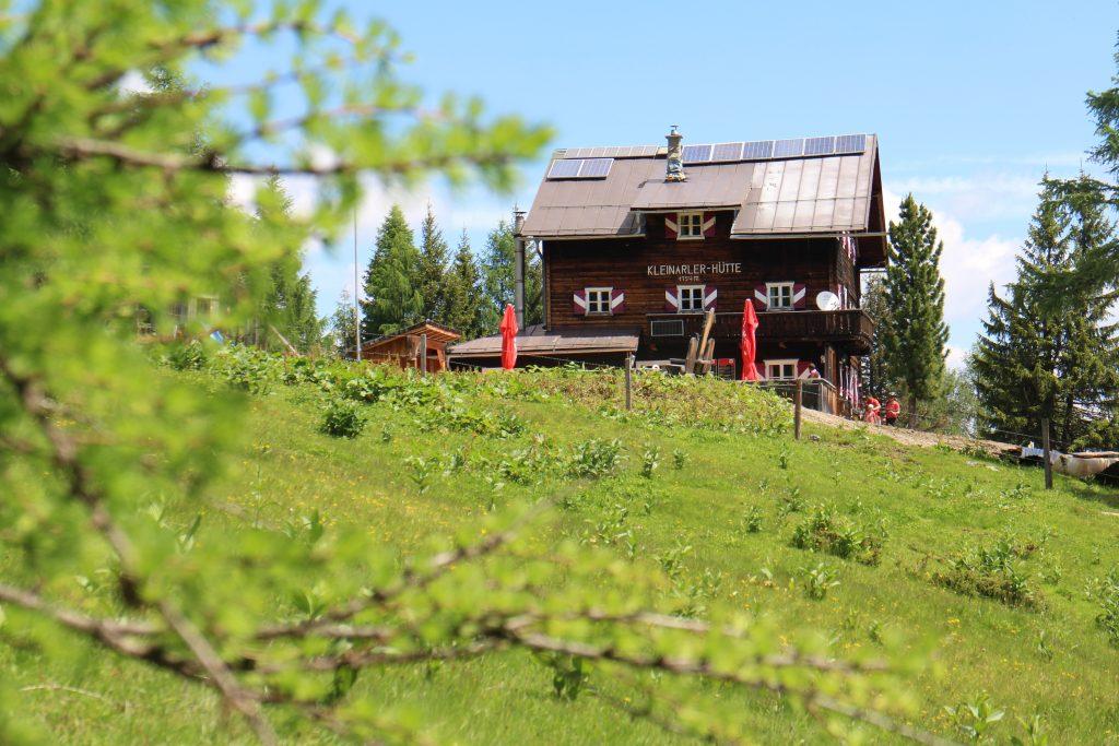 Kleinerer Hütte